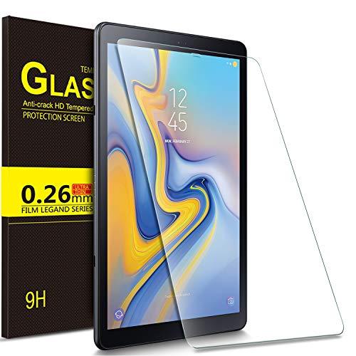 IVSO Bildschirmschutz für Samsung Galaxy Tab A 10.5 SM-T590/T595, 9H Festigkeit, 2.5D, Bildschirmfolie Schutzglas Bildschirmschutz Für Samsung Galaxy Tab A SM-T590/SM-T595 10.5 Zoll 2018, (1 x)
