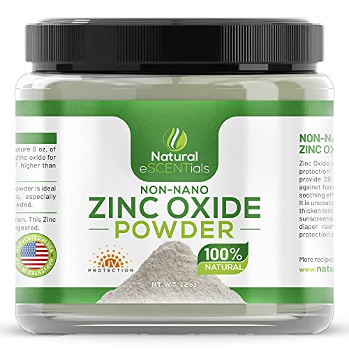 Natural Zinc Oxide Powder - Non Nano and Uncoated - Baby Safe,...