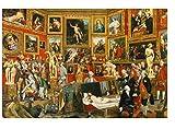Yzqxiongtu Galería de Arte 1000 Piezas Adultos Rompecabezas, Rompecabezas de Madera, decoración del hogar Pintura al óleo mundialmente Famosa Imagen Juguetes Juegos mentales