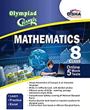 Olympiad Champs Mathematics Class 8 with 5 Mock Online Olympiad Tests 2nd Edition