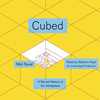 Cubed audiobook cover art
