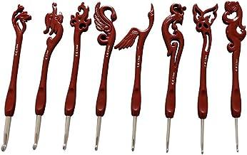 XiaoG 8pcs / set vogels roestvrijstalen naald haak haken set, breinaald gereedschap (Color : 1)