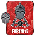 Jay Franco Black Knight Red Camo 2 Piece Nogginz Set (Official Fortnite Product)