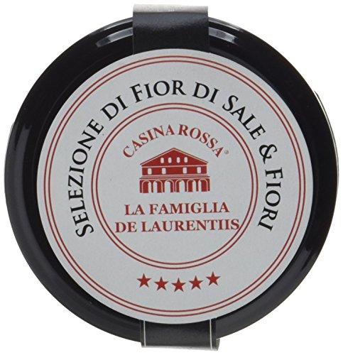 Casina Rossa Fiore di Sale  'Cervia' 100g | unbehandeltes Meersalz aus den Abruzzen | Zur Verfeinerung von Pasta, Salaten, Fisch- oder Fleischgerichten