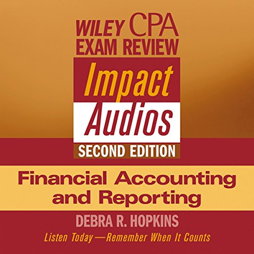 Wiley CPA Examination Review Impact Audio, Second Edition audiobook cover art