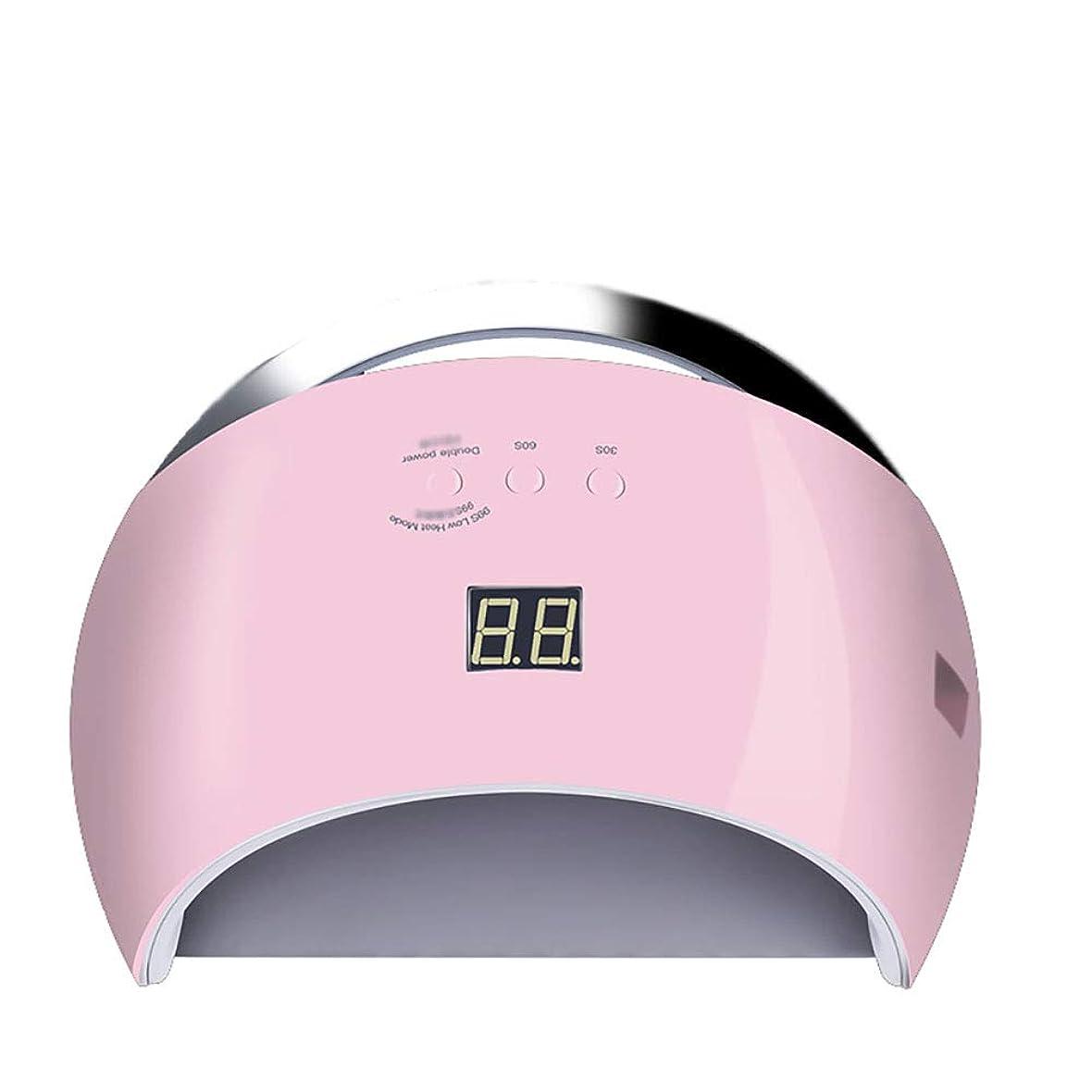 ヒューマニスティック医療の信号釘ドライヤー - 自動赤外線センサー、二重光源のLedランプのゲルのドライヤーのマニキュアが付いている紫外線携帯用Ledの釘ランプ