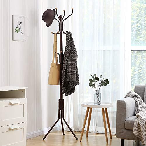 Metal Coat and Hat Rack Free Standing Display