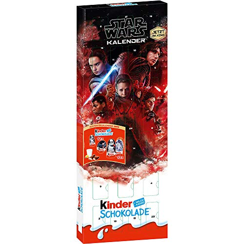 kinder Schokolade Adventskalender STAR WARS (24 - tlg. / 204 Gramm)