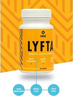 Lyfta Mood Supplement - Mood Enhancer, Stress Relief, and Mental Focus - 30 Capsules