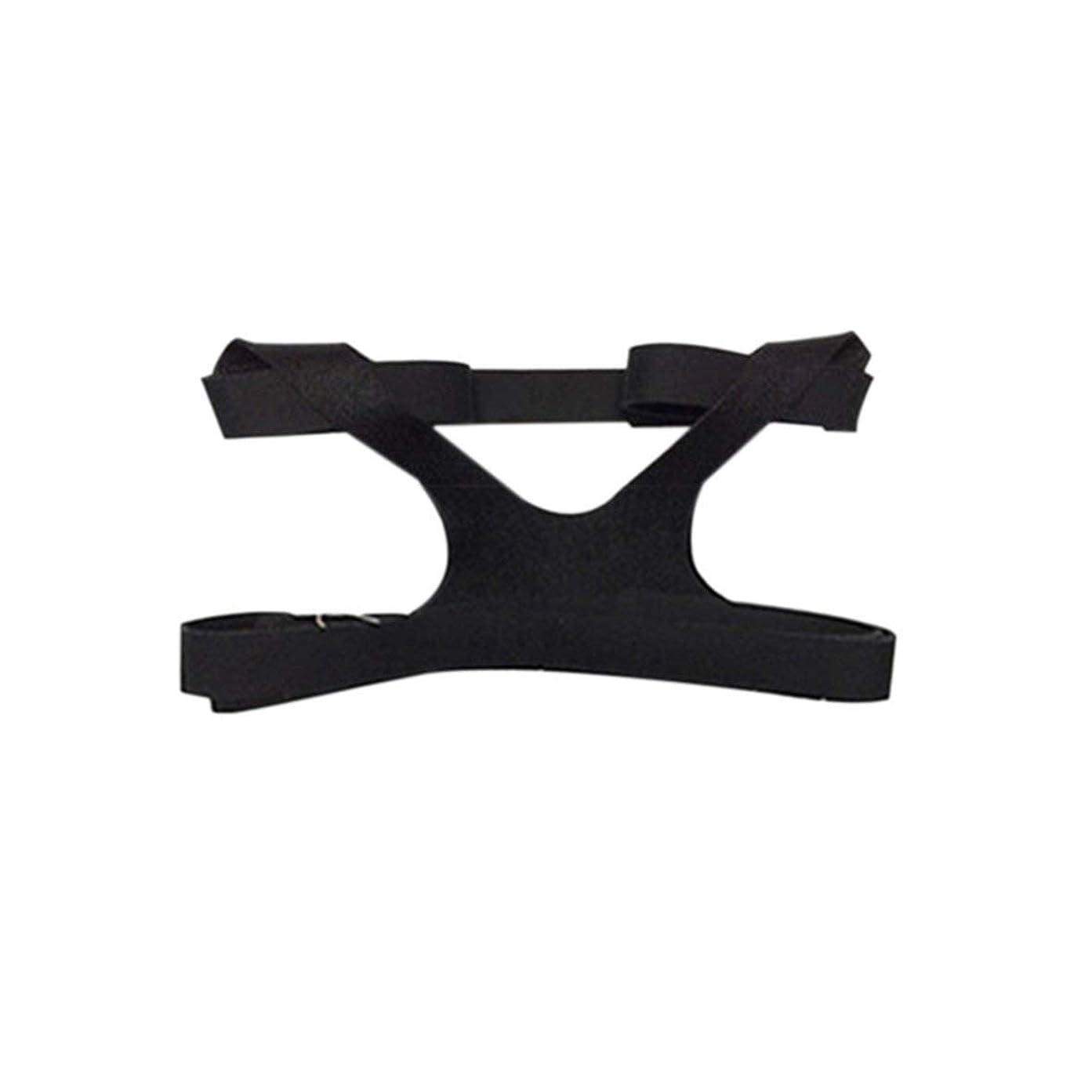 サバント年齢居心地の良いBlackfell ユニバーサルデザインヘッドギアコンフォートジェルフルマスク安全な環境交換CPAPヘッドバンドなしマスク用PHILPS