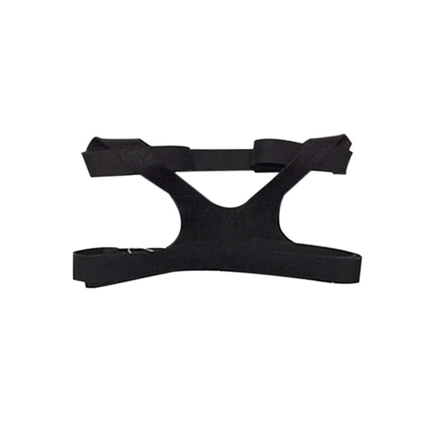 予言するライフルレールBlackfell ユニバーサルデザインヘッドギアコンフォートジェルフルマスク安全な環境交換CPAPヘッドバンドなしマスク用PHILPS