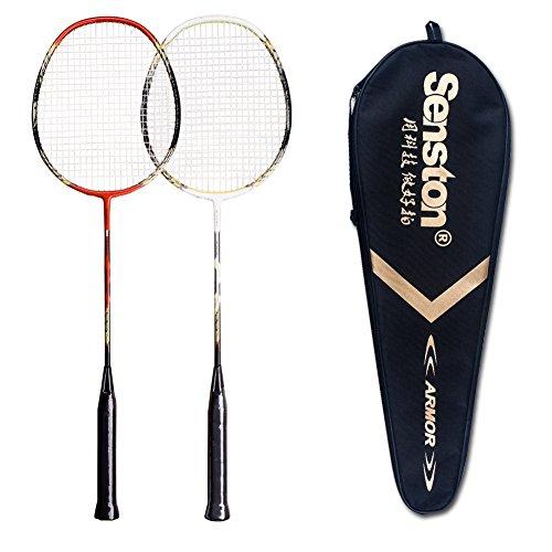 Senston - 2 Player Badminton Racket Set Double...