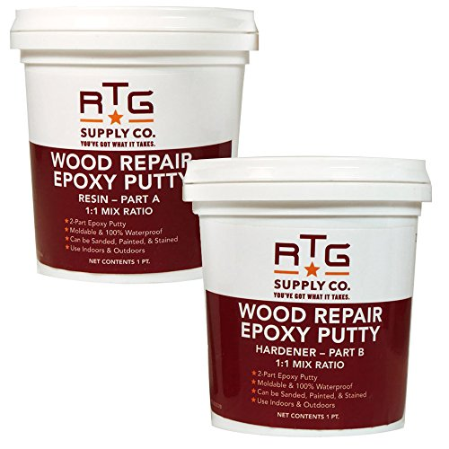 RTG Supply Co. Supply Wood Repair Epoxy Putty (2-Pint Kit)