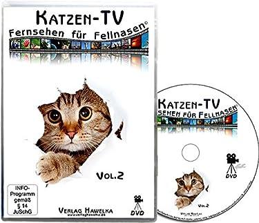 Katzen-TV - Fernsehen für Fellnasen - Vol. 2 - Der ultimative Katzenspaß! Das Geschenk für Katzen - Video für Katzen