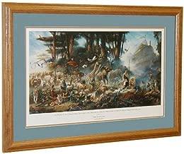 Tom duBois THE INVITATION Hand Signed by the Artist Matted & Framed Noah's Ark Art