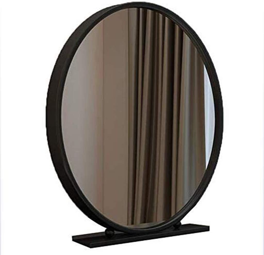 FXLYMR Large-scale sale Mirror Wall-Mounted Decorative Cheap super special price Makeup Round Vanity