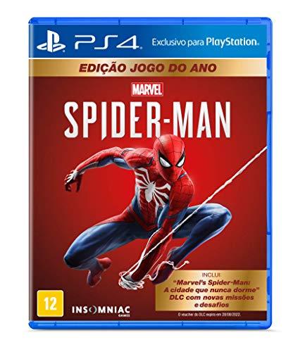 Marvel's Spider-Man – Edição Jogo do Ano – PlayStation 4