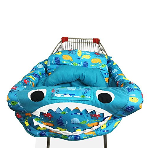 Read About kaigeli Baby Shopping Cart Cover,Cart Cover for Babies,3-in-1 Kids Children's Cushion Trolley Game Pad Dining Chair Cushion Case- Safe Portable Pad