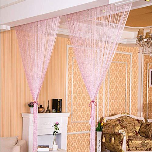 cortinas salon rosa