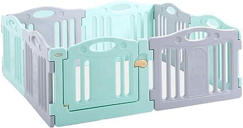 marca famosa LXAYM Panel De Actividades De Plástico For Bebés For For For Bebés - Cerradura De Seguridad Mejorada - Barrera Portátil For Niños con Divisor De Habitación (Talla   166x166x62cm)  sin mínimo