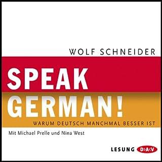 Speak German! Titelbild