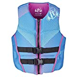 Full Throttle 142500-500-820-19 Adult Women's Blue Rapid-Dry Flex-Back Vest - Small