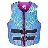 Full Throttle Women's Hinged Rapid-Dry Flex-Back Life Vest, Small, Purple