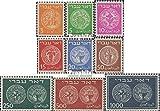 Prophila Collection Israel Michel.-No..: 1A-9A (Completa.edición.) 1948 Viejos Monedas (Sellos para los coleccionistas) Moneda en Sello
