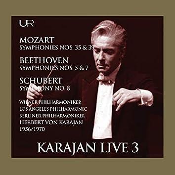 Mozart, Beethoven & Schubert: Orchestral Works (Live)