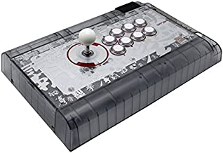 $129 Get Qanba Crystal Joystick for PlayStation 4 and PlayStation 3 and PC (Fighting Stick) Officially Licensed Sony Product