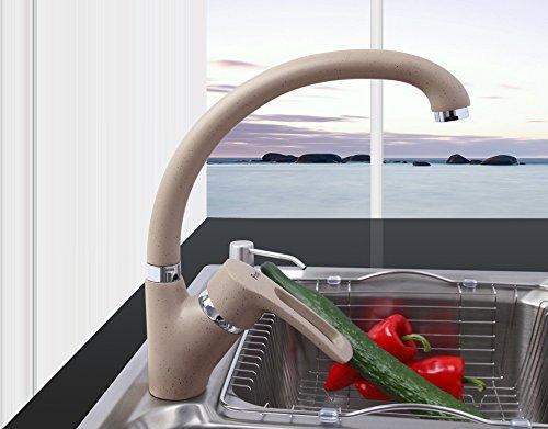 Tutoy Miscelatore A Spruzzo Multicolor Cucina Rubinetto Acqua Calda E Fredda Rubinetto Singola Maniglia 360 Rotazione-Gamel