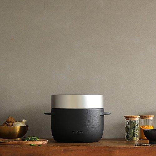 バルミューダ3合炊き電気炊飯器BALMUDATheGohanK03A-BK(ブラック)