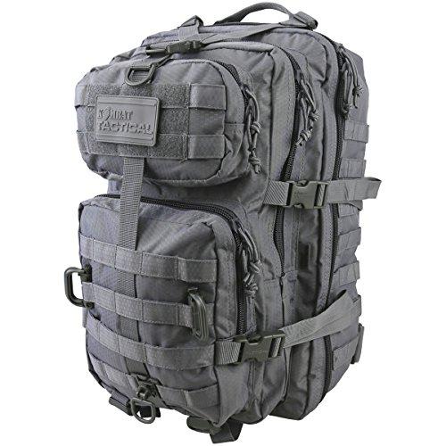 Kombat UK Hex-TAC Reaper, Color Gun Metal Grey, tamaño Talla única, Volumen Liters 40