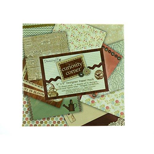 Dovecraft - Papel para Manualidades (15,24 x 15,24 cm, 72 Hojas), Multicolor