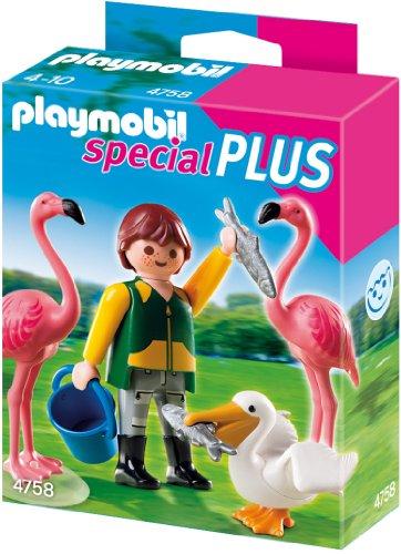Playmobil 4758 - Tierpfleger mit exotischen Vögeln