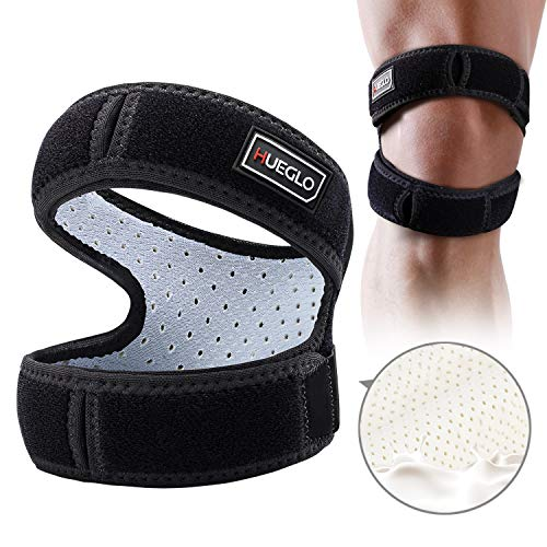 """Patella Knee Strap for Running,Knee Stabilizing Brace Support for Tendonitis,Osgood schlatter,Arthritis, Meniscus, Tear,Runners,Chondromalacia,Injury Recovery,Sports,12""""-18"""""""