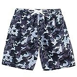 Kute 'n' Koo Boys Swim Trunks, UPF 50+ Quick Dry Boys Swim Shorts...