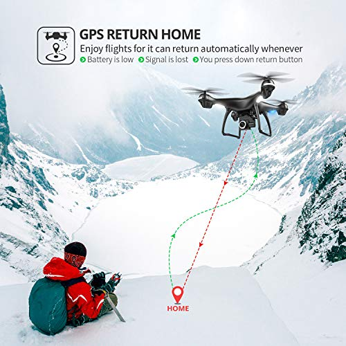Holy-Stone-2K-GPS-FPV-RC-Drone-HS100-with-HD-Camera-Live-Video-and-GPS-Return-Home-Large-Quadcopter-with-Adjustable-Wide-Angle-Camera-Follow-Me-Altitude-Hold-18-Minutes-Flight-Long-Control-Range