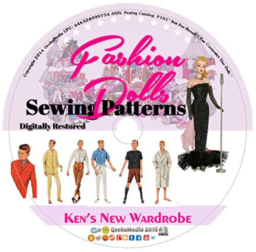 Ken's New Wardrobe: Sewing Patterns Barbie's Boyfriend P101