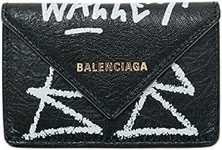 バレンシアガ BALENCIAGA レディース 財布 ミニ財布 三つ折り GRAFFITI 391446 0FE3T 1065