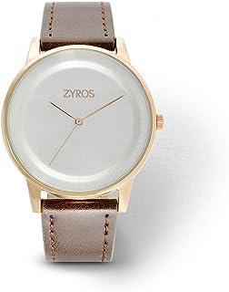 Zyros Dress Watch for Men, Quartz, Z9018M100711