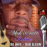 Mek It Out Riddim (Instrumental)
