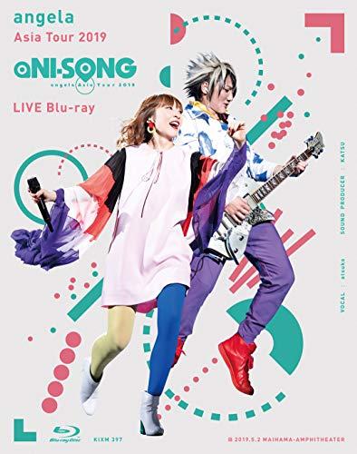 """[画像:【Amazon.co.jp限定】angela Asia Tour 2019 """"aNI-SONG"""" LIVE Blu-ray(オリジナル:デカジャケ+メーカー特典:ポストカード付き)]"""