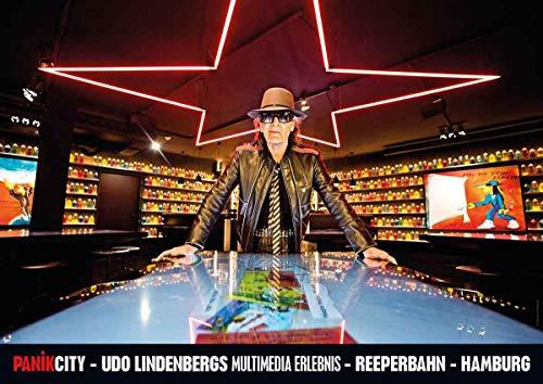 MMmedia GmbH Panik City - UDO Lindenberg A1 Poster Motiv UDO in der Likörelle Bar