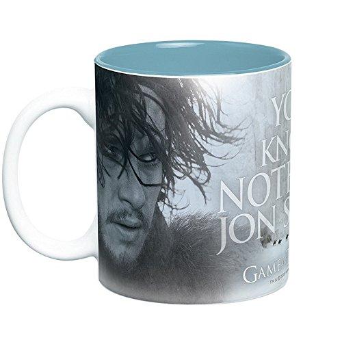Game of Thrones - Jon Snow & Ygritte - Taza - 460 ml - You Know Nothing Jon Snow