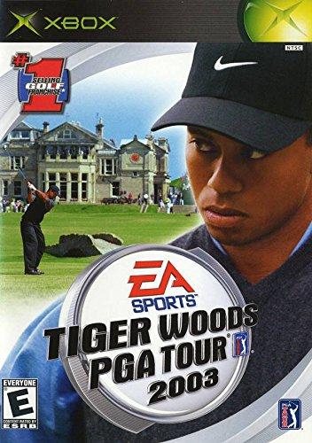 xbox tiger woods pga tour 2003