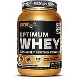 GTN - Optimum WHEY Protein | Gold Tech Nutrition Optimum Whey Protein Powder Muscle Building Supplements with Glutamine and Amino Acids (Vanilla Ice Cream, 907g)