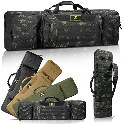 Sunfiner 【Upgraded】 Urban Series Double Soft Rifle Case,...