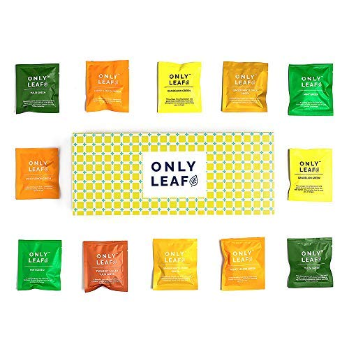 Onlyleaf Green Tea for Health Box (24 Teabags 6 Flavours)