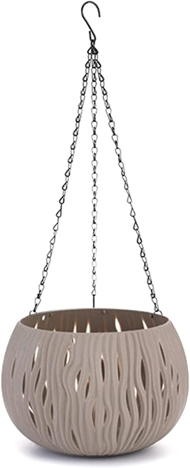 27x22x60cm Gray Max 63% OFF Hanging Planter for Outdoor Flower Indoor Ho Max 62% OFF Pot